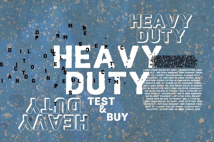 Vtks HeavyDuty Font
