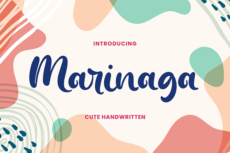 Marinaga Font
