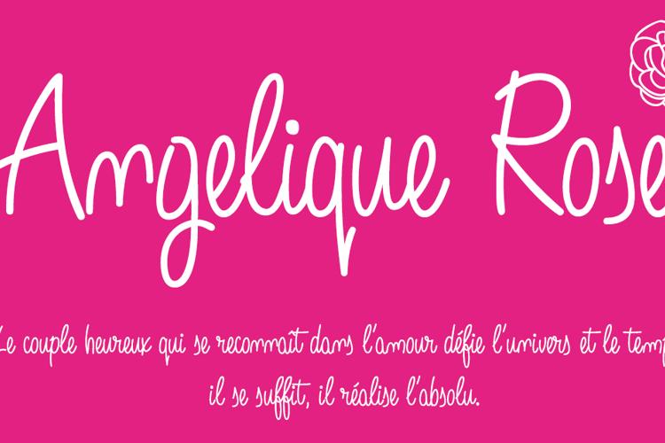Angelique Rose Font