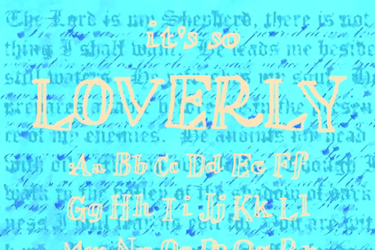 Loverly Font