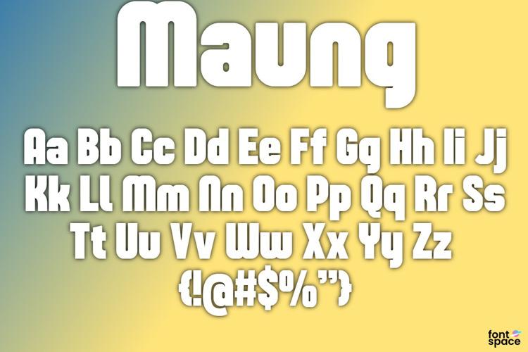 Maung Font