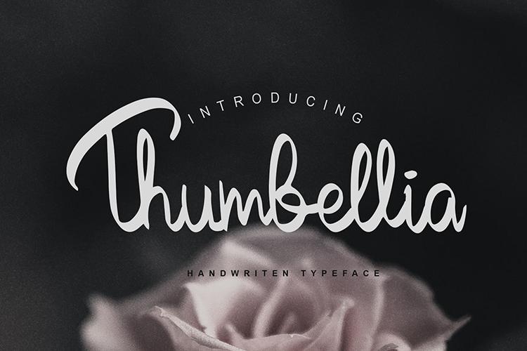 Thumbellia Font