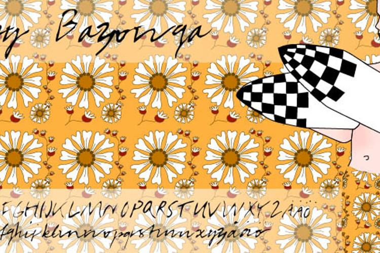 BabyBazonga Font