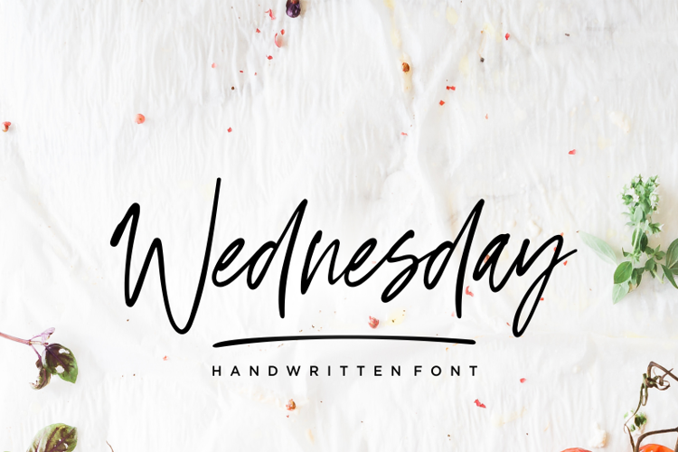 Wednesday Vibes Font