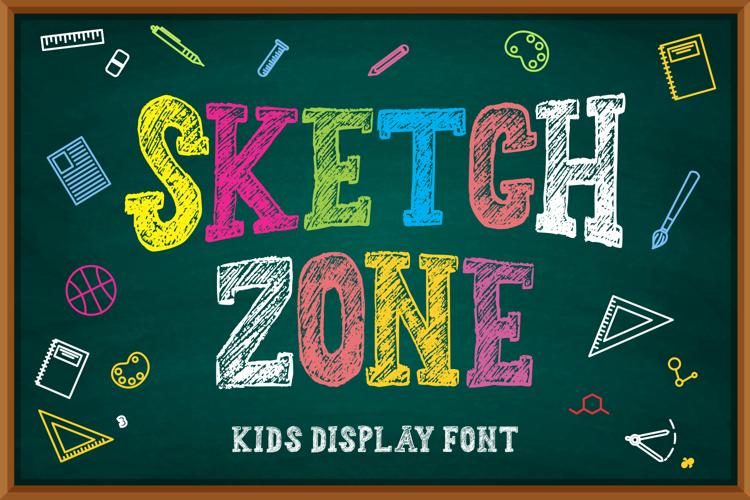 Sketchzone Font