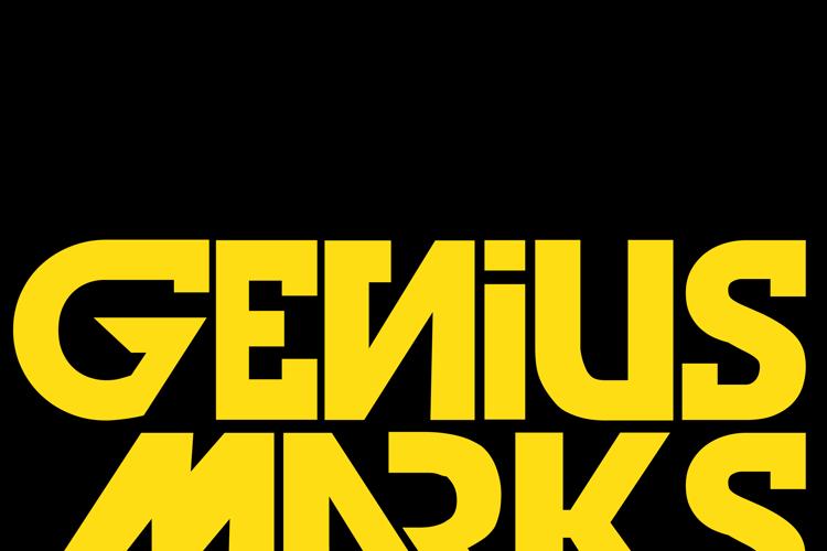 Genius Marks Font