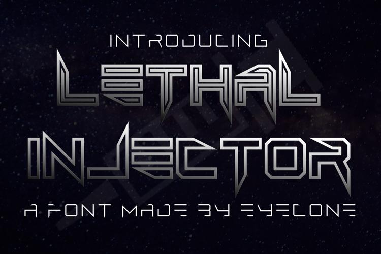 Lethal Injector Font