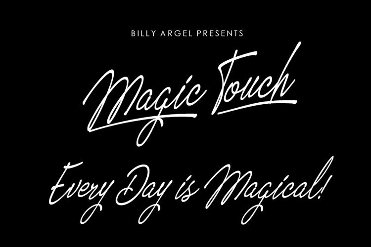 Magic Touch Font
