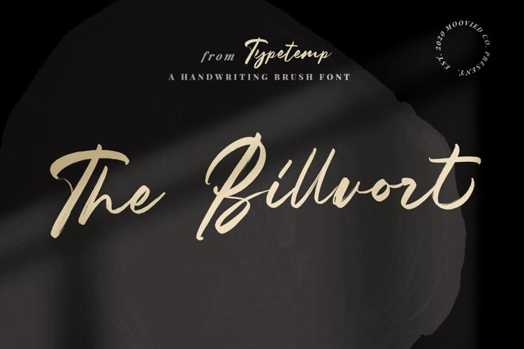 The Billvort Font