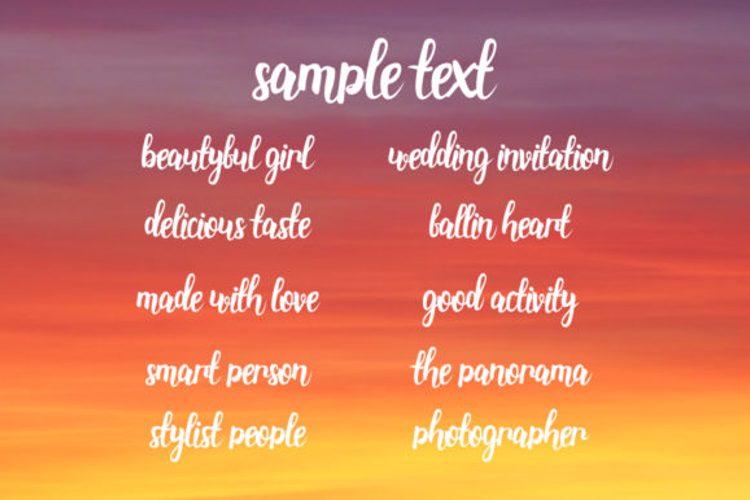 Stainella Script Font