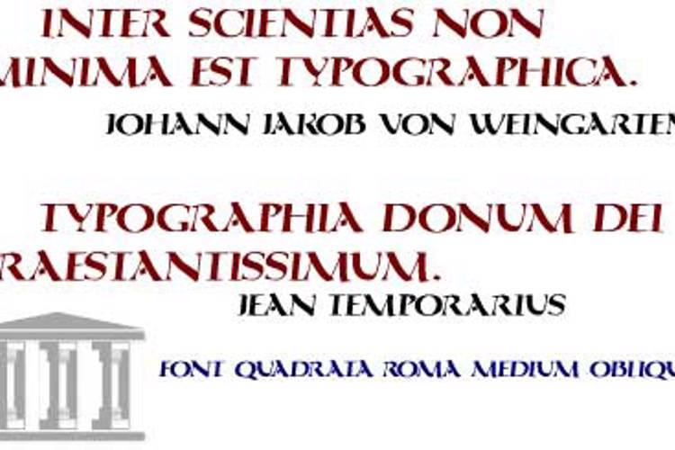 QuadrataRoma Font