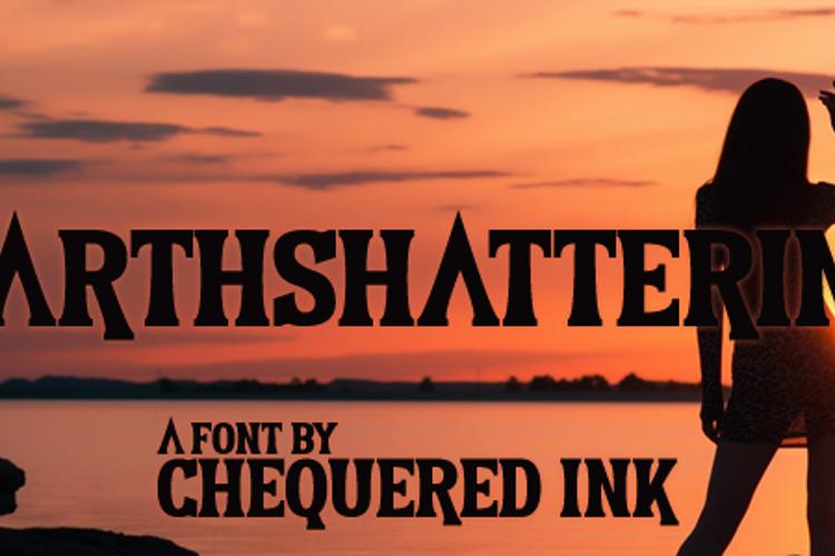Earthshattering Font