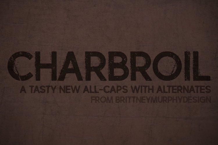 charbroil Font