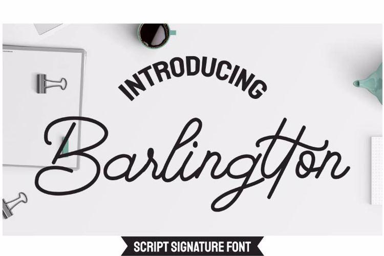 Barlingtton Font