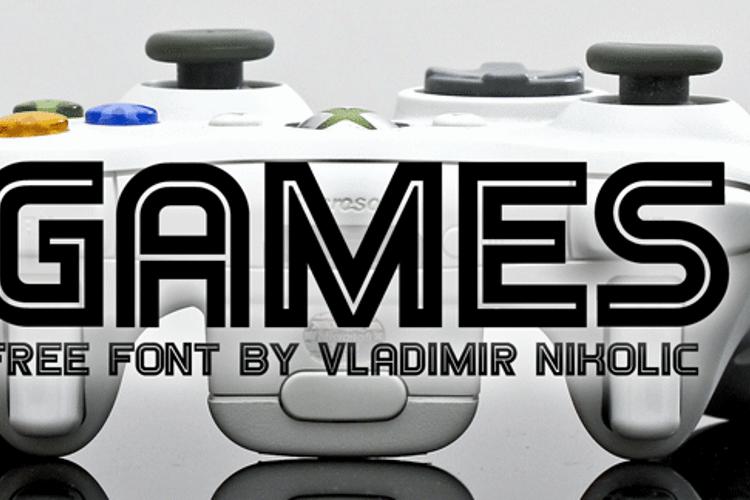 Games Font