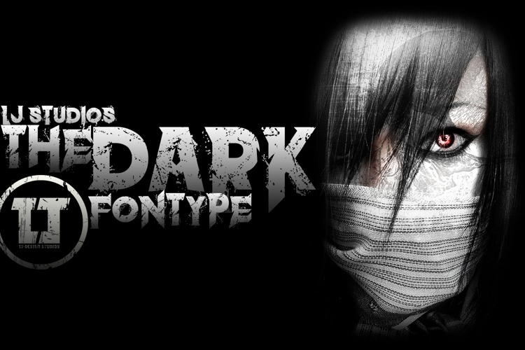 the dark Font