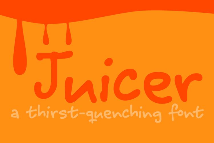 Juicer Font
