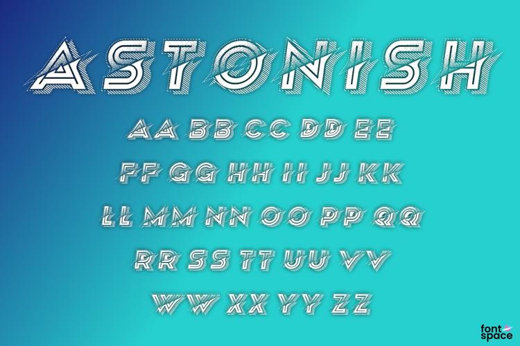 Astonish Font