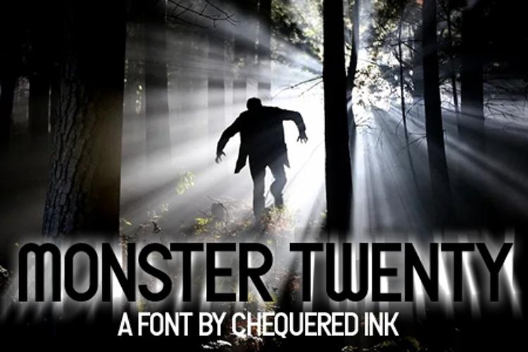 Monster Twenty Font