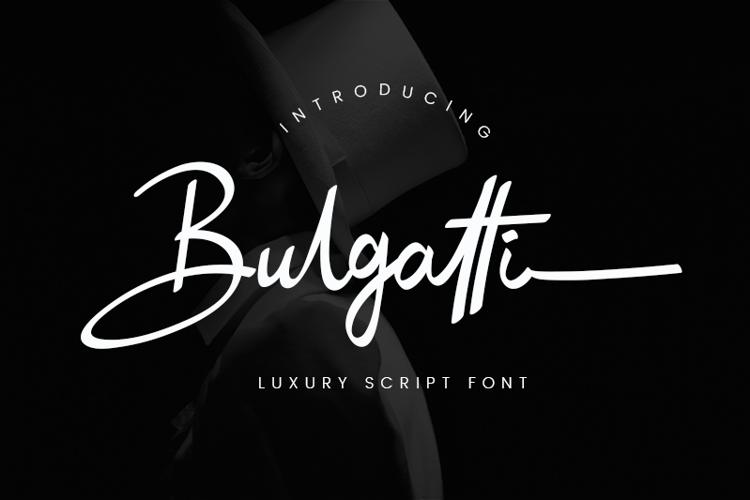 Bulgatti Font