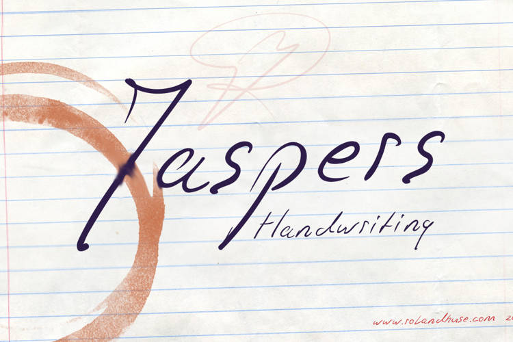 Jaspers Handwriting Font