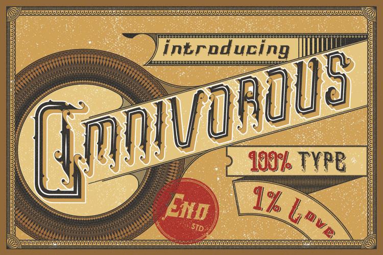 Omnivorous Regular 02 Font