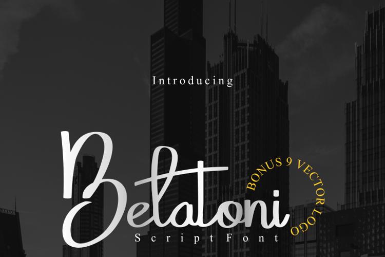 Belatoni Font
