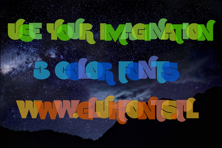 Use Your Imagination Font