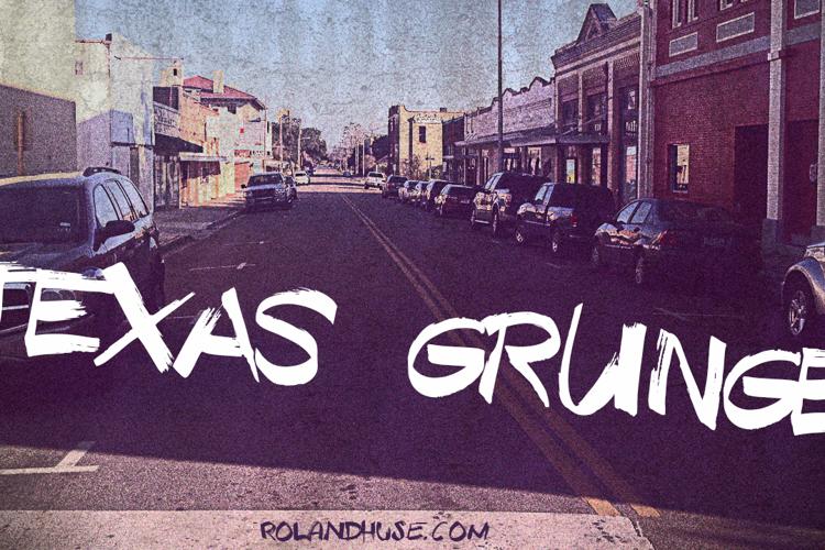Texas Grunge Demo Font