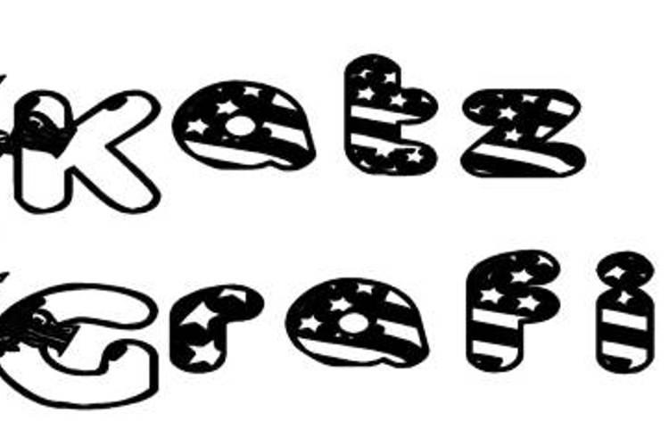KG UNCLE SAM Font