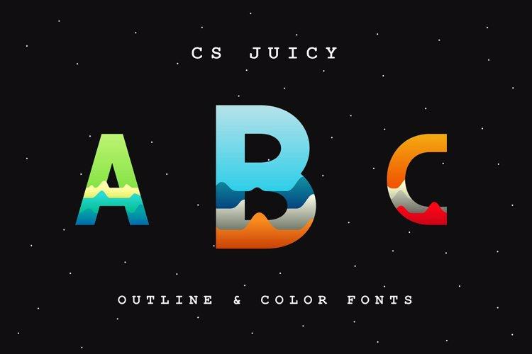 CS Juicy Font