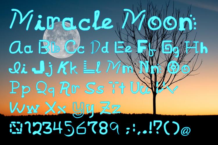 Miracle Moon Font