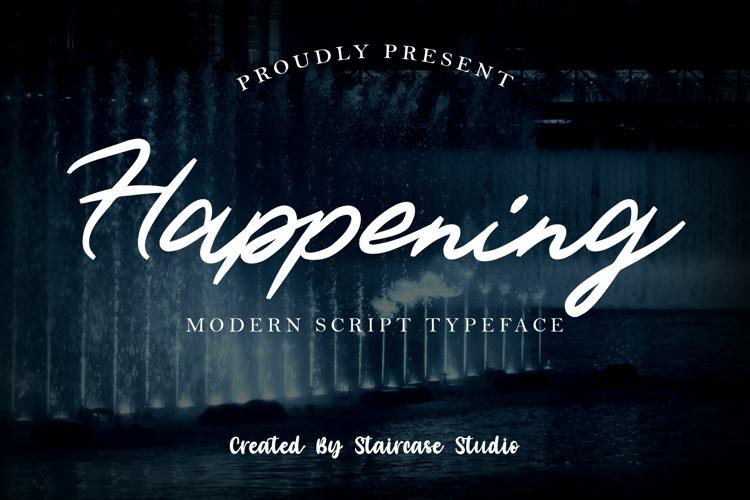 Happening Font