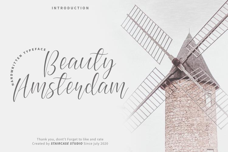 Beauty Amsterdam Font