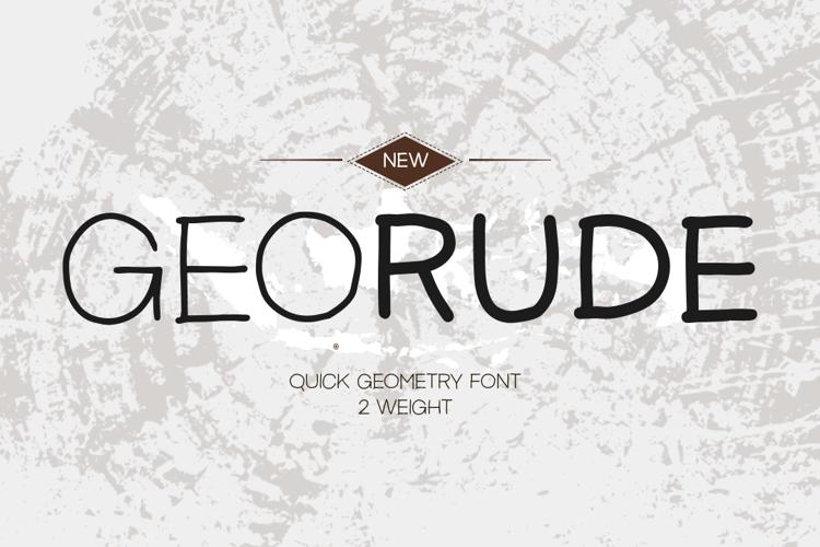 Georude DEMO Font