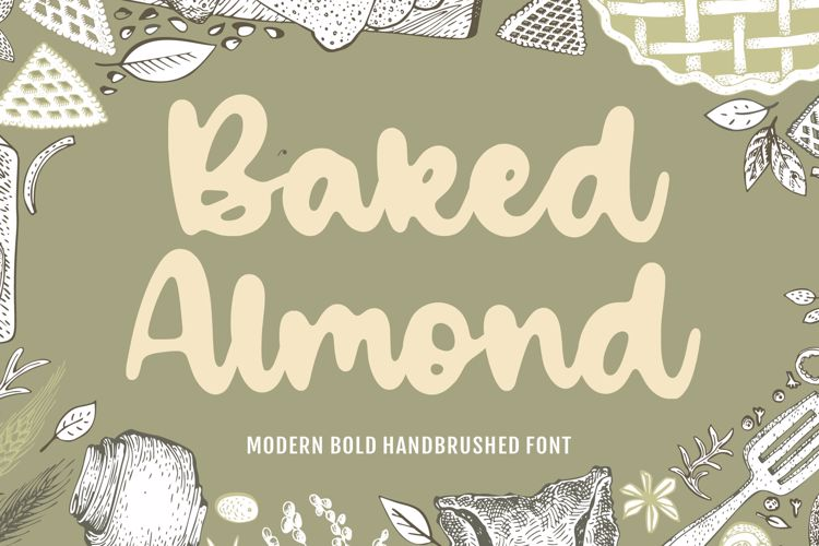 Baked Almond Font