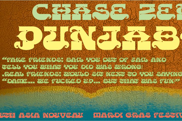 CHASE ZEN PUNJABI Font