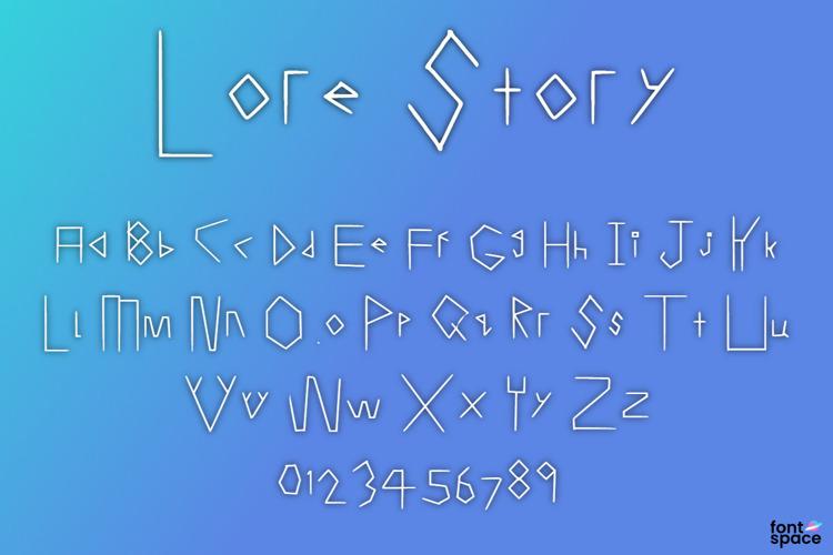 Lore Story Font