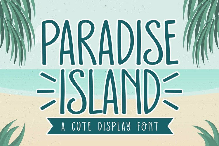 Paradise Island Font