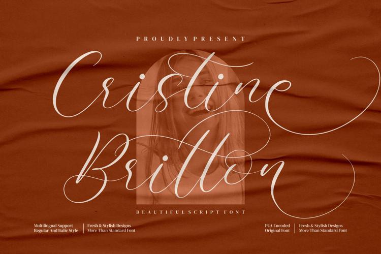 Cristine Britton Font