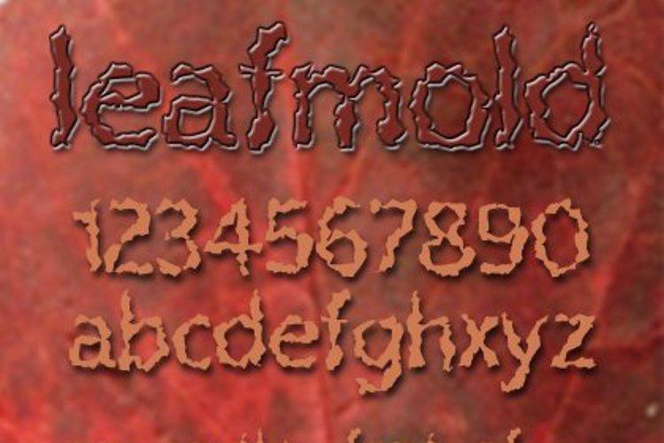Leafmold Font