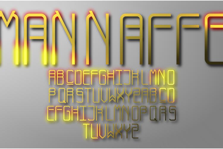 Mannaffe Yunis Font