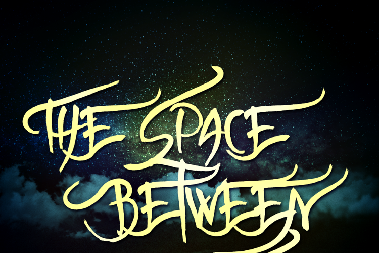 The space between Us Font