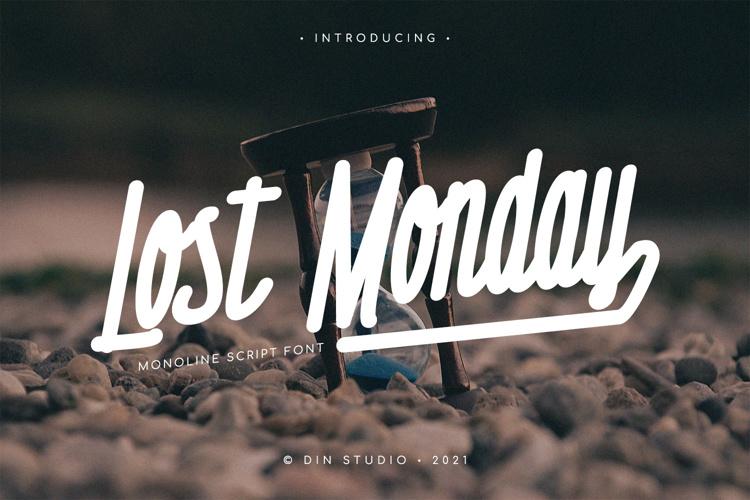 Lost Monday Font