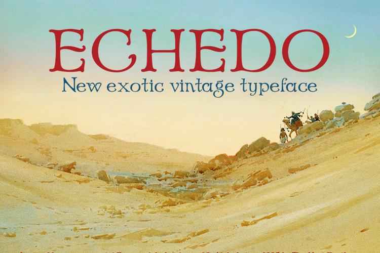 Echedo Font
