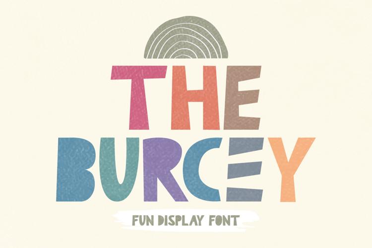 The Burcey Font