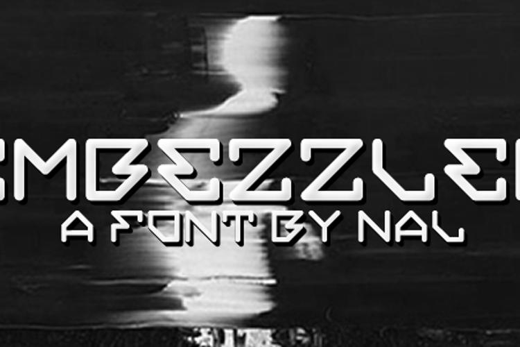 Embezzler Font
