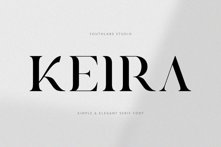 Keira Serif Font