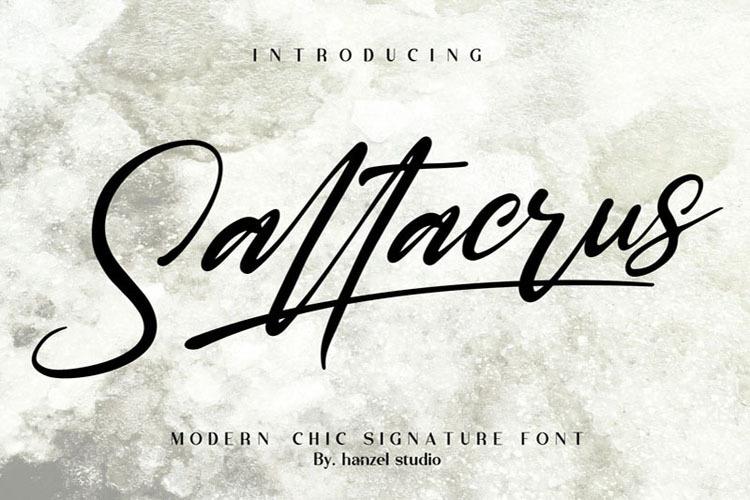 Saltacrus Font