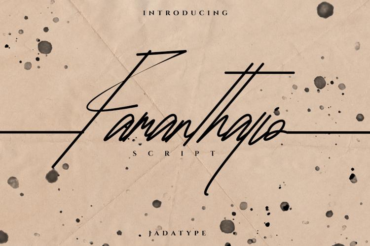 Famanthalio Font
